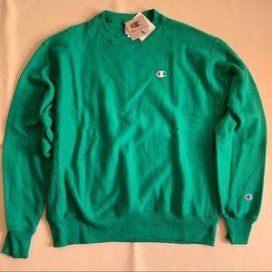 Champions lime green sweatshirt!